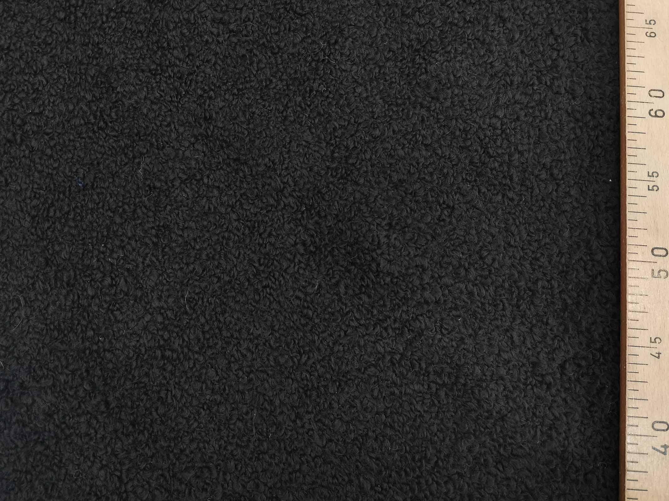 אריג בוקלה שחור